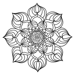 Mandalas on free printable mandala coloring pages adults